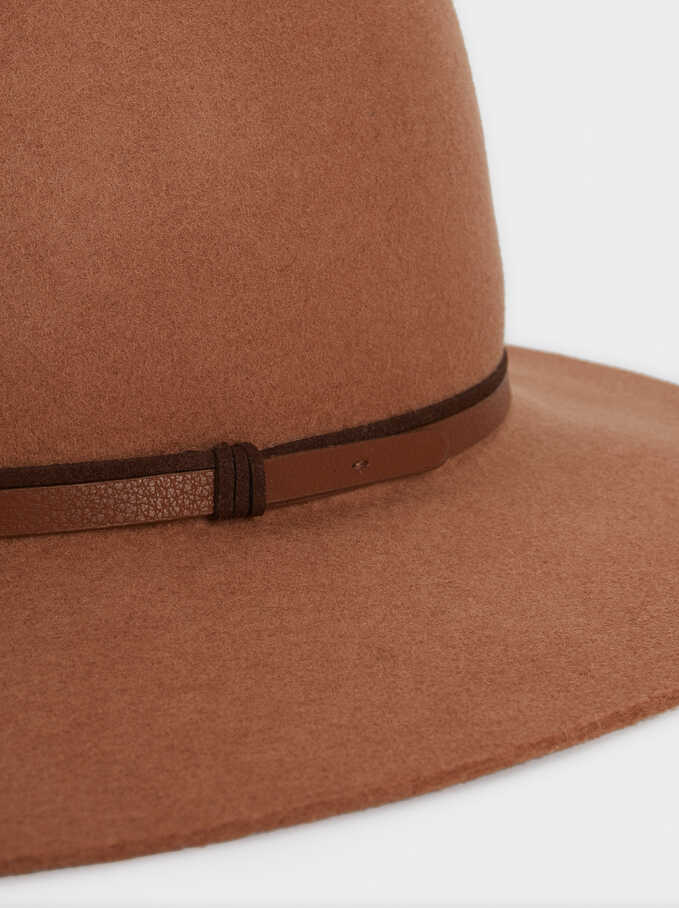 Wool Hat, Beige, hi-res