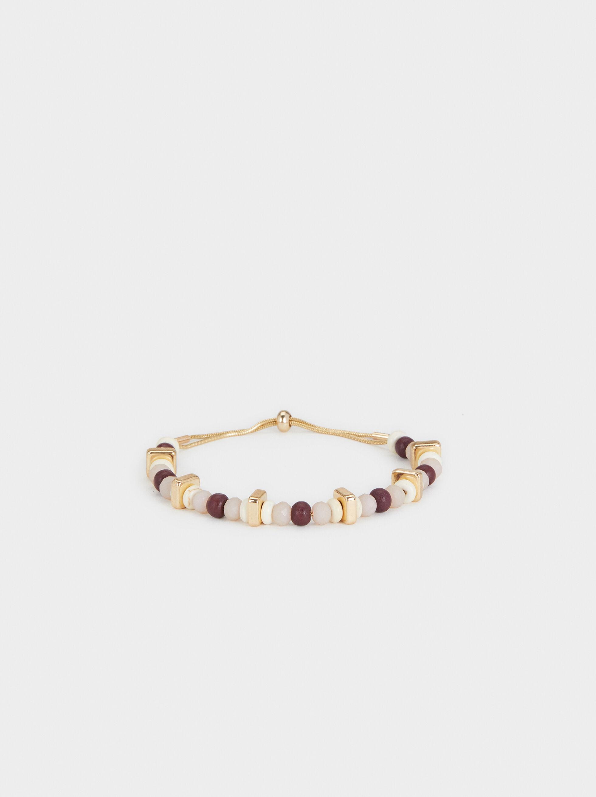 Land Adjustable Bracelet With Stones, Multicolor, hi-res