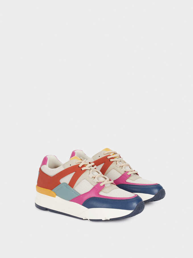 Multicoloured Trainers, Multicolor, hi-res
