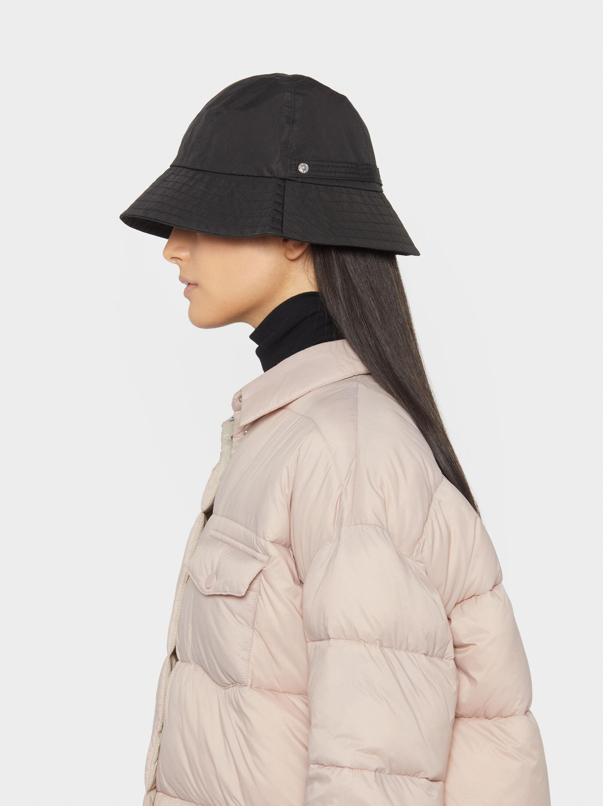 Waterproof Rain Hat , Black, hi-res