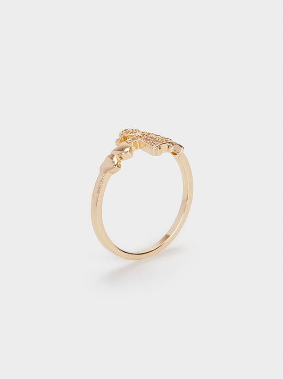 Girl'S Heart Ring, , hi-res