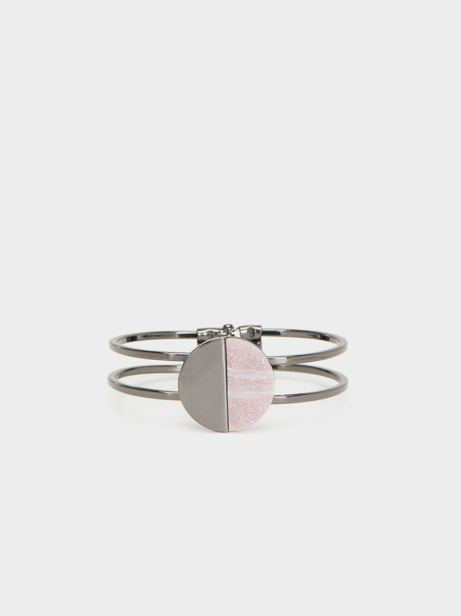 Cosmic Pink Rigid Bracelet, Multicolor, hi-res