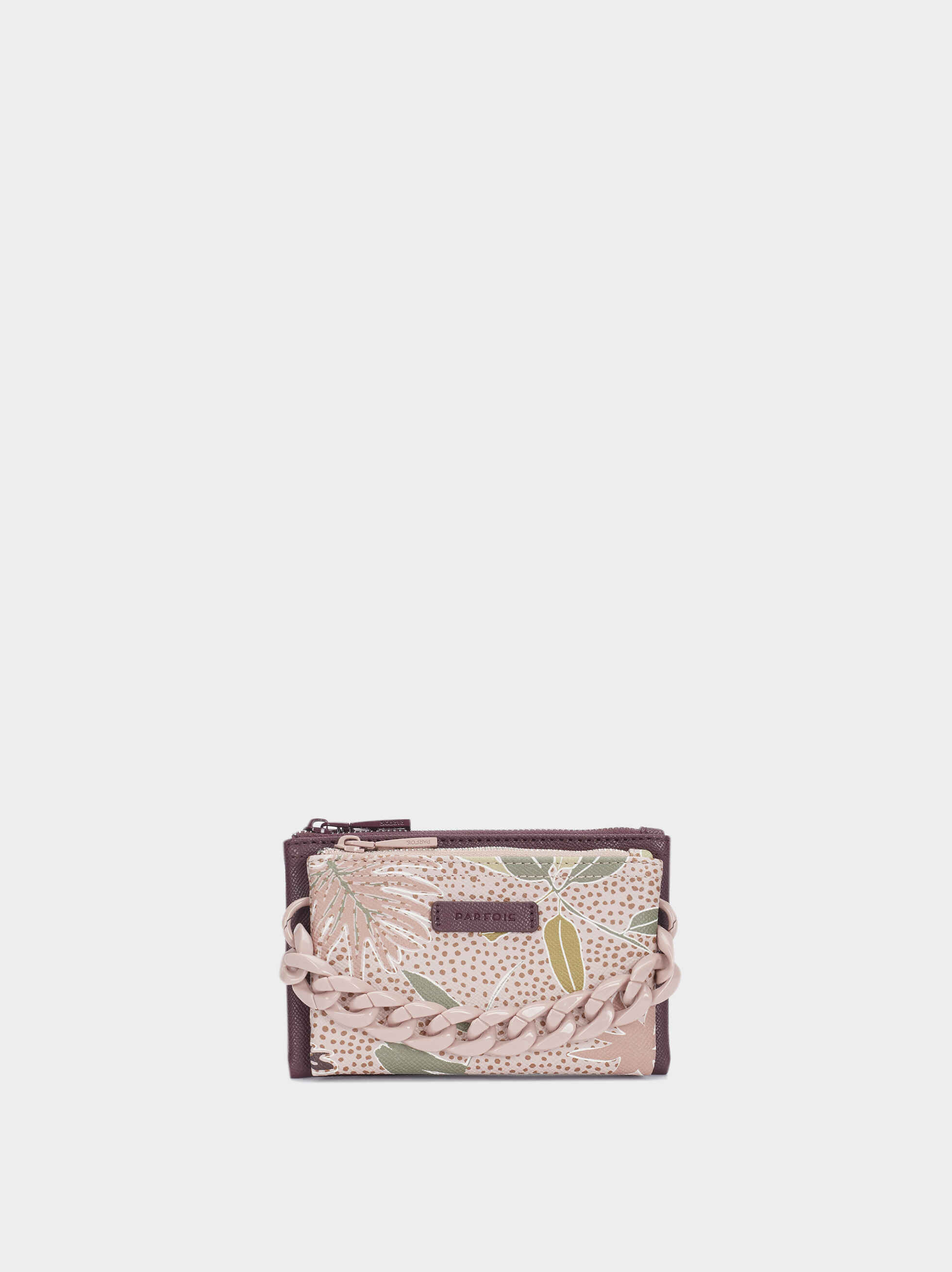 Printed Multi-Use Purse, Bordeaux, hi-res