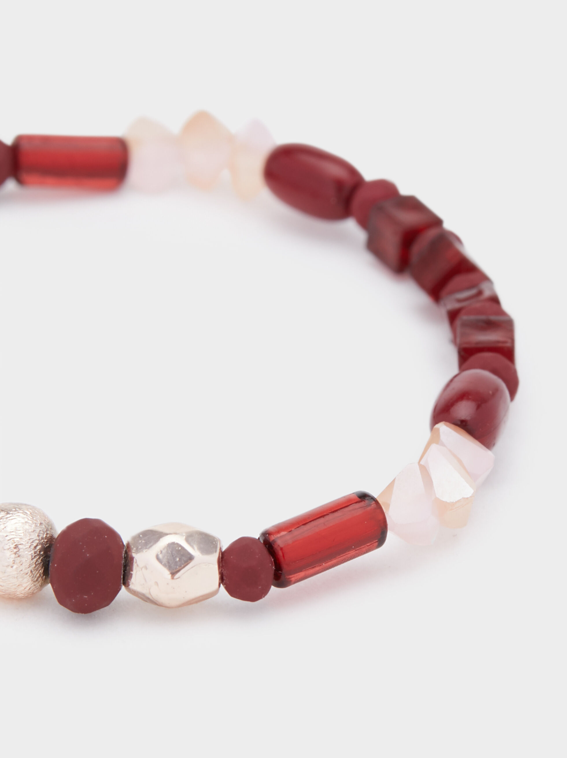 Rose Berry Elastic Bracelet, Multicolor, hi-res