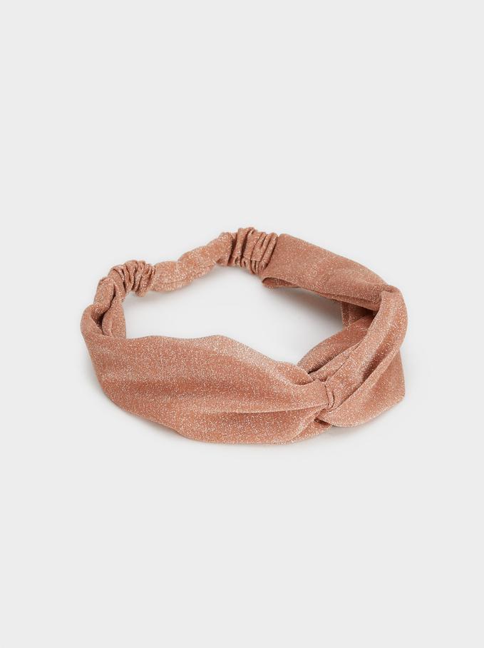 Mesh Headband, Pink, hi-res