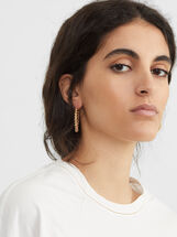 Hoop Fever Medium Hoop Earrings, , hi-res