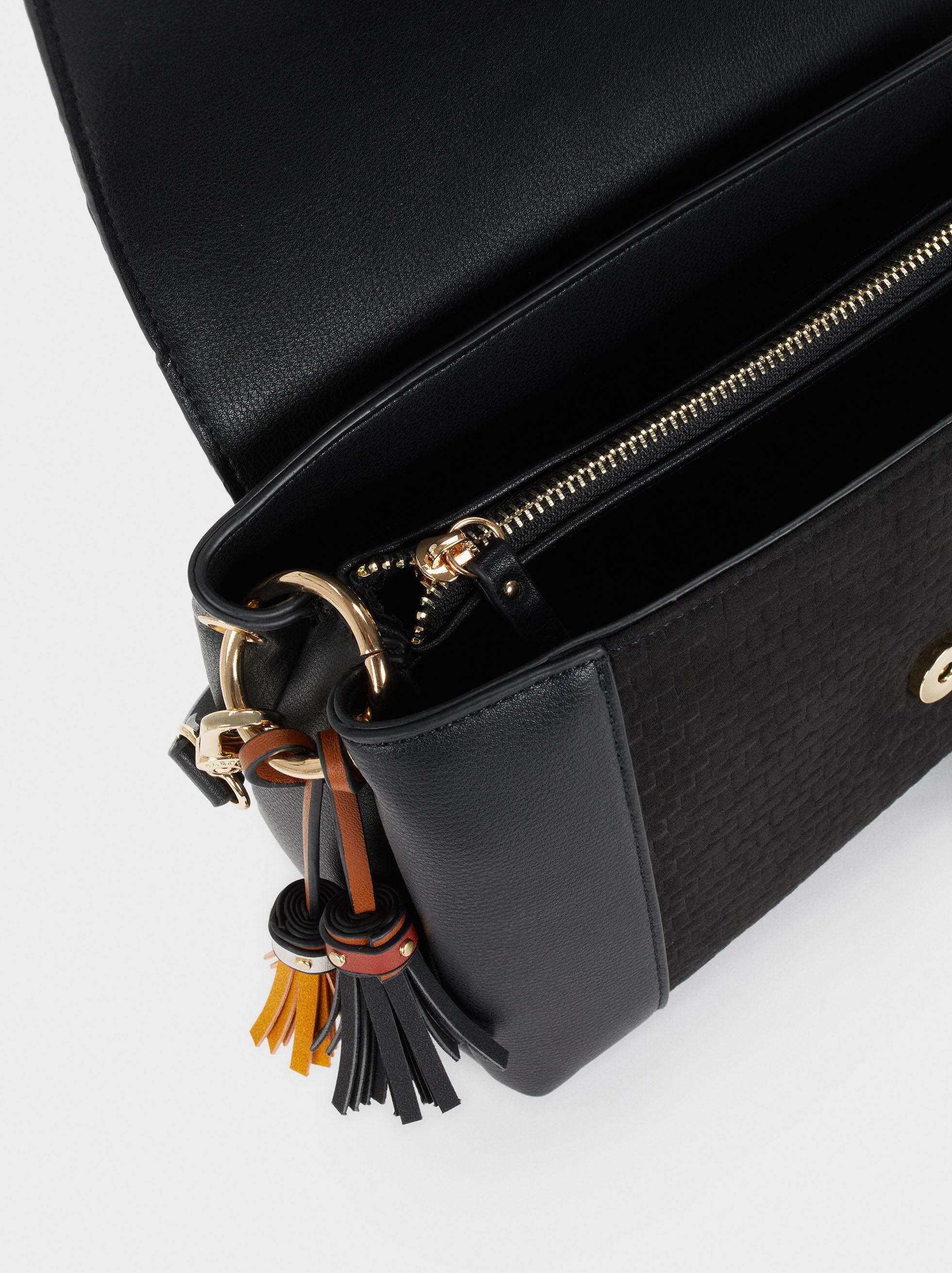 Elisa Cross Bag, Black, hi-res