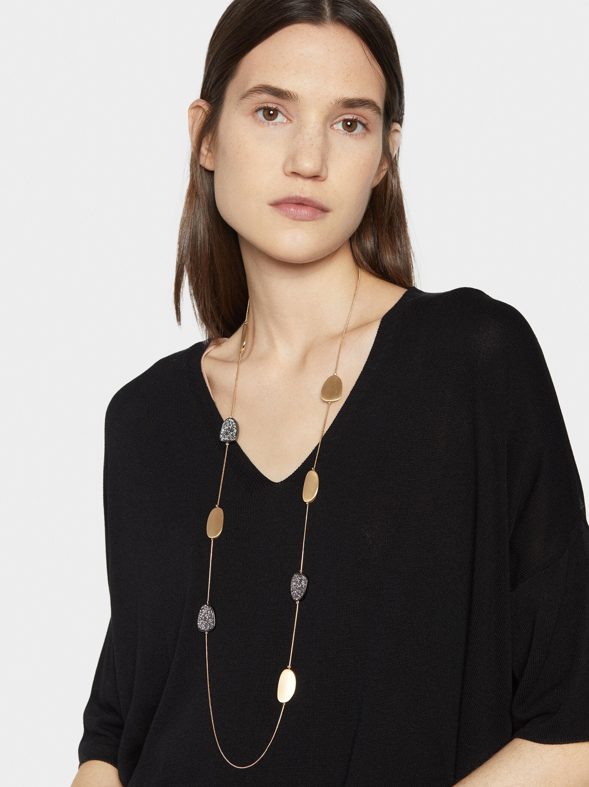 Basic Long Necklace, , hi-res