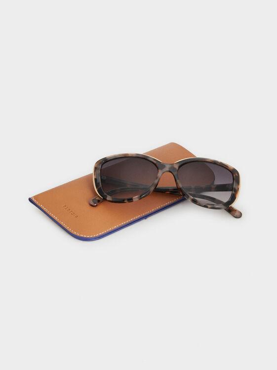 Tortoiseshell Sunglasses, Multicolor, hi-res