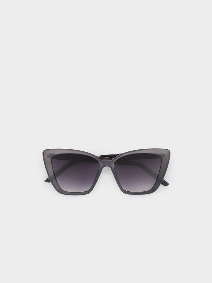 Gafas De Sol Montura De Pasta, Gris, hi-res