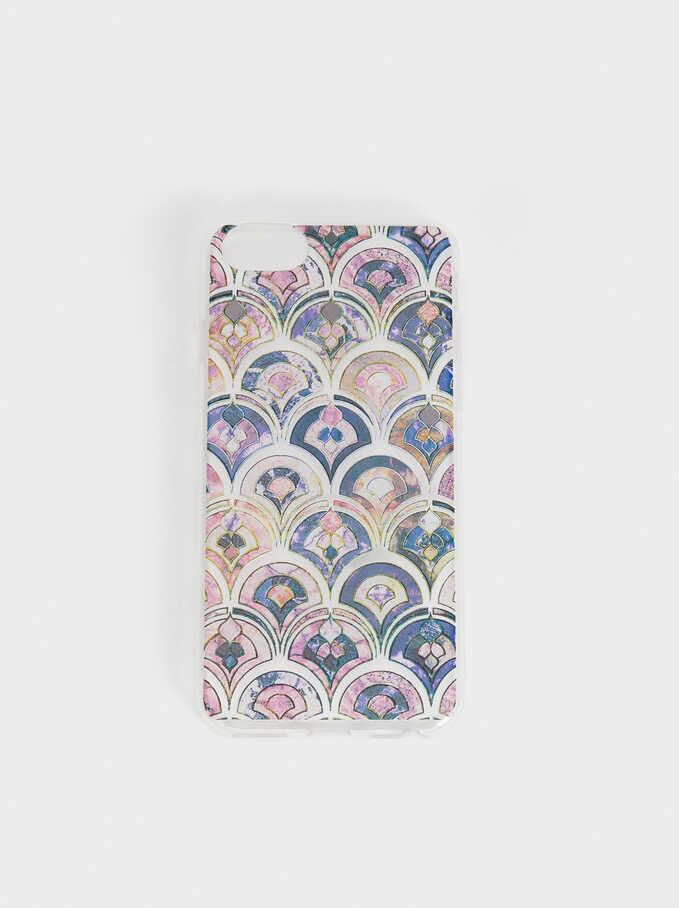 Printed Iphone 6/7/8 Case, Multicolor, hi-res