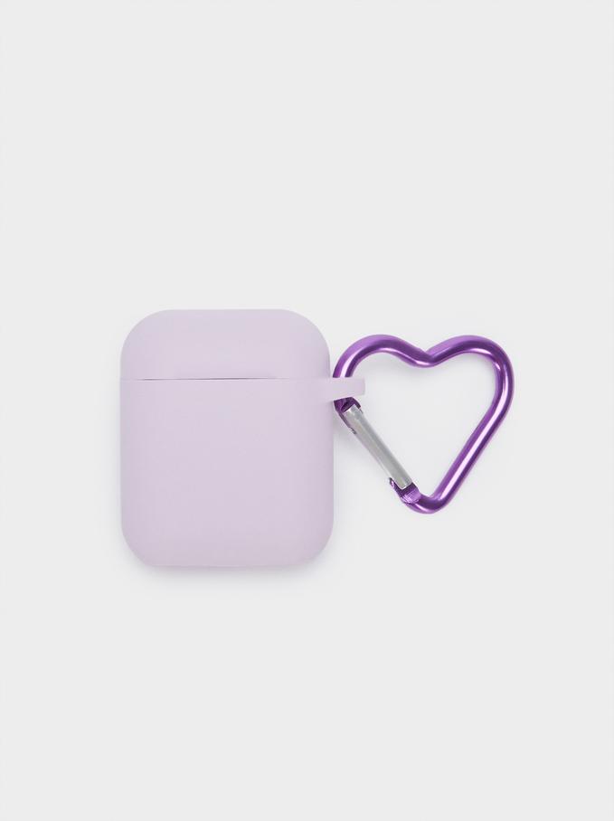 Airpods Case, Violet, hi-res