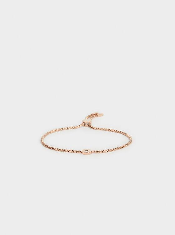 Adjustable Bracelet With Shiny Detail, , hi-res