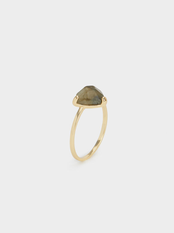Silver 925 Ring With Stone, , hi-res