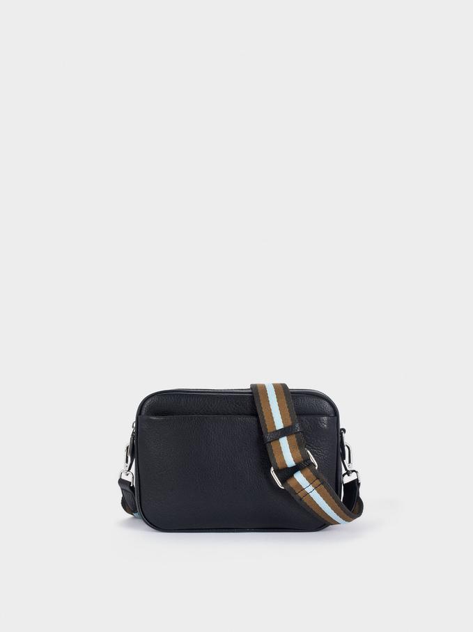Crossbody Bag With Double Handle, Black, hi-res