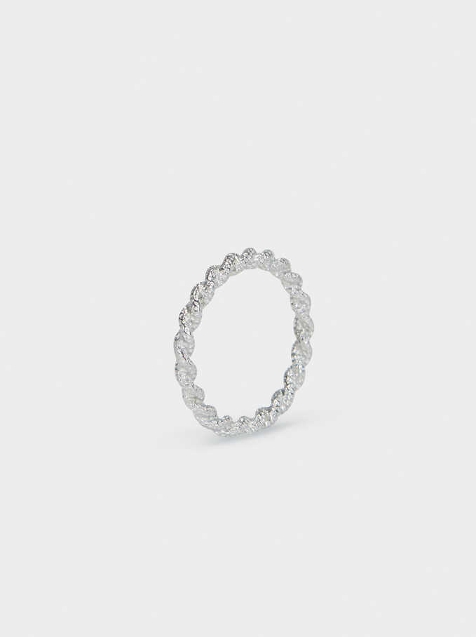 Steel Ring, Silver, hi-res