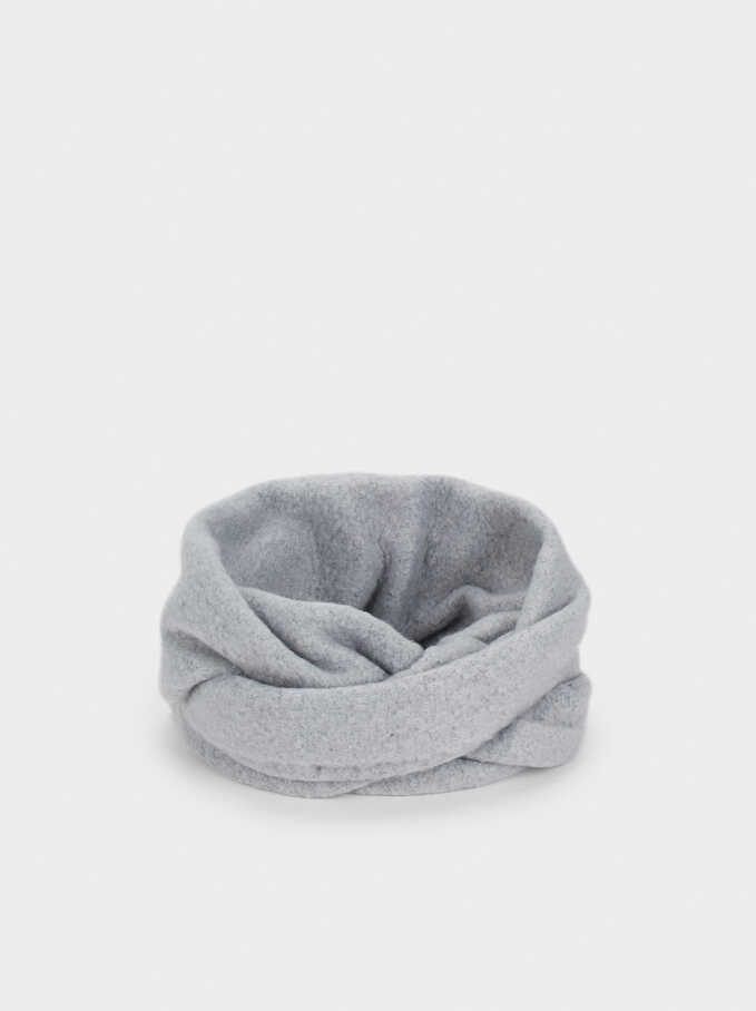 Winter Snood, Grey, hi-res