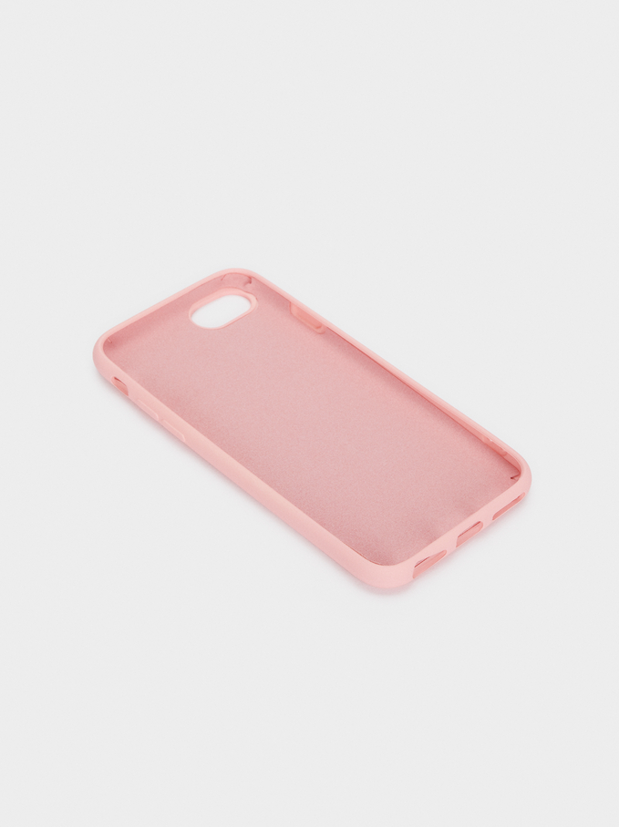 Heart Iphone 6/7/8 Case, Pink, hi-res
