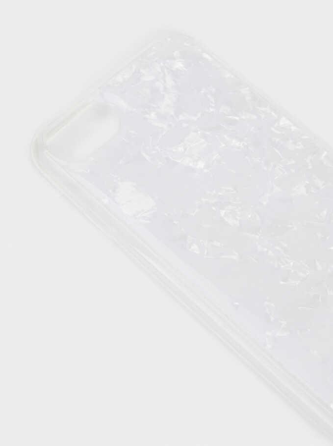 Funda Iphone 6/7/8 Textura Mármol, Gris, hi-res