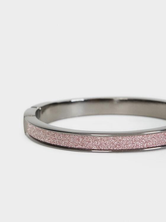 Cosmic Pink Rigid Bracelet, Multicolor, hi-res