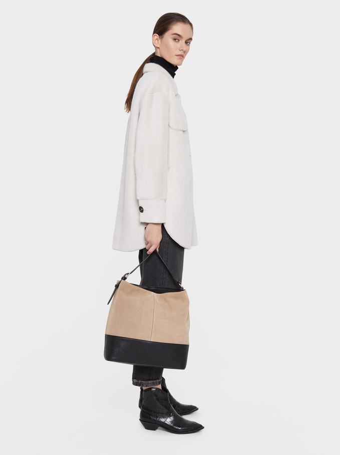Soak Handbag, Ecru, hi-res