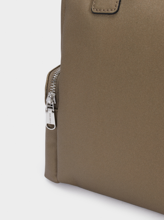 Multi-Way Backpack With Detachable Straps, Khaki, hi-res