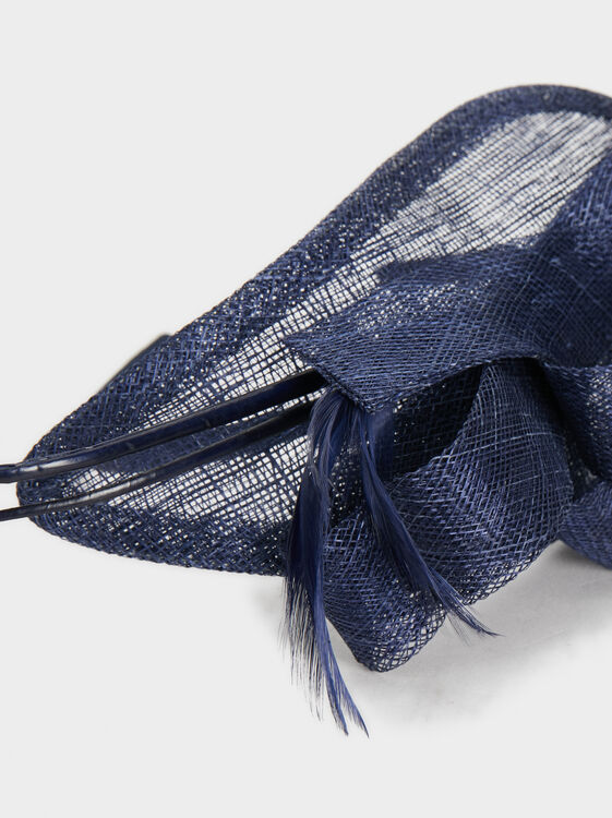 Blog Headband, Navy, hi-res
