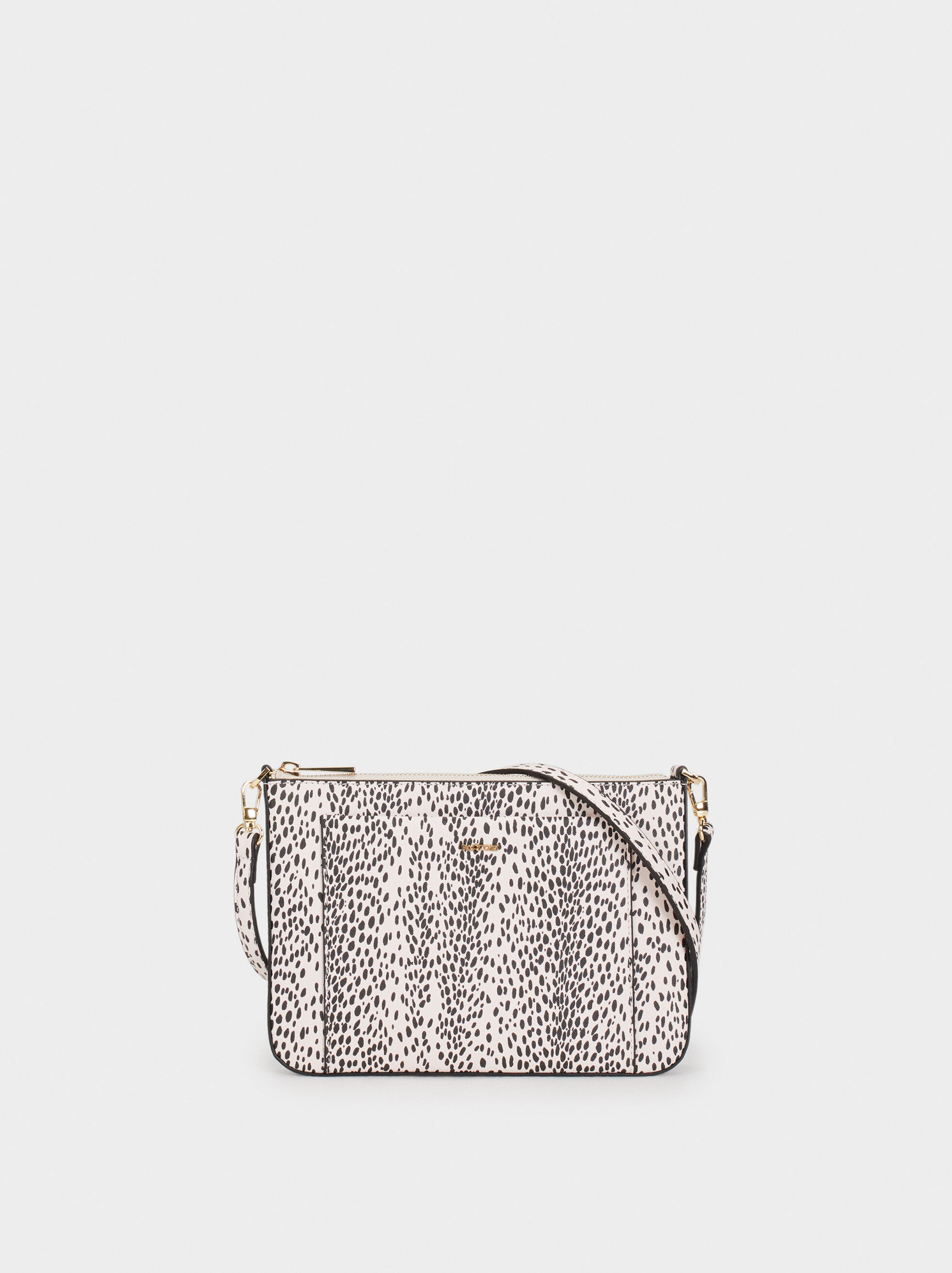 Animal Print Crossbody Bag, , hi-res