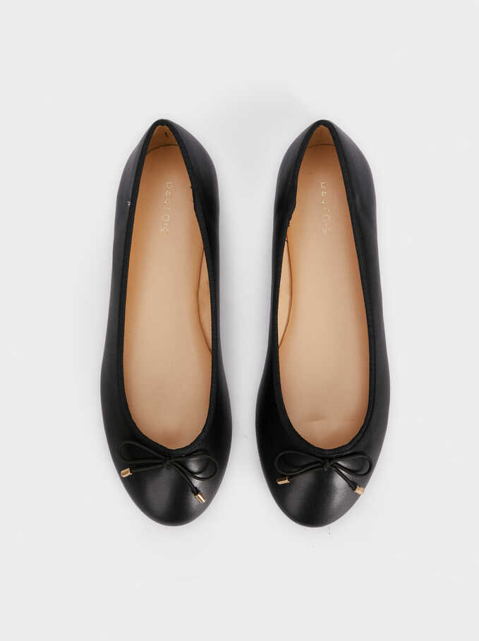 Special Price Ballerinas, Black, hi-res