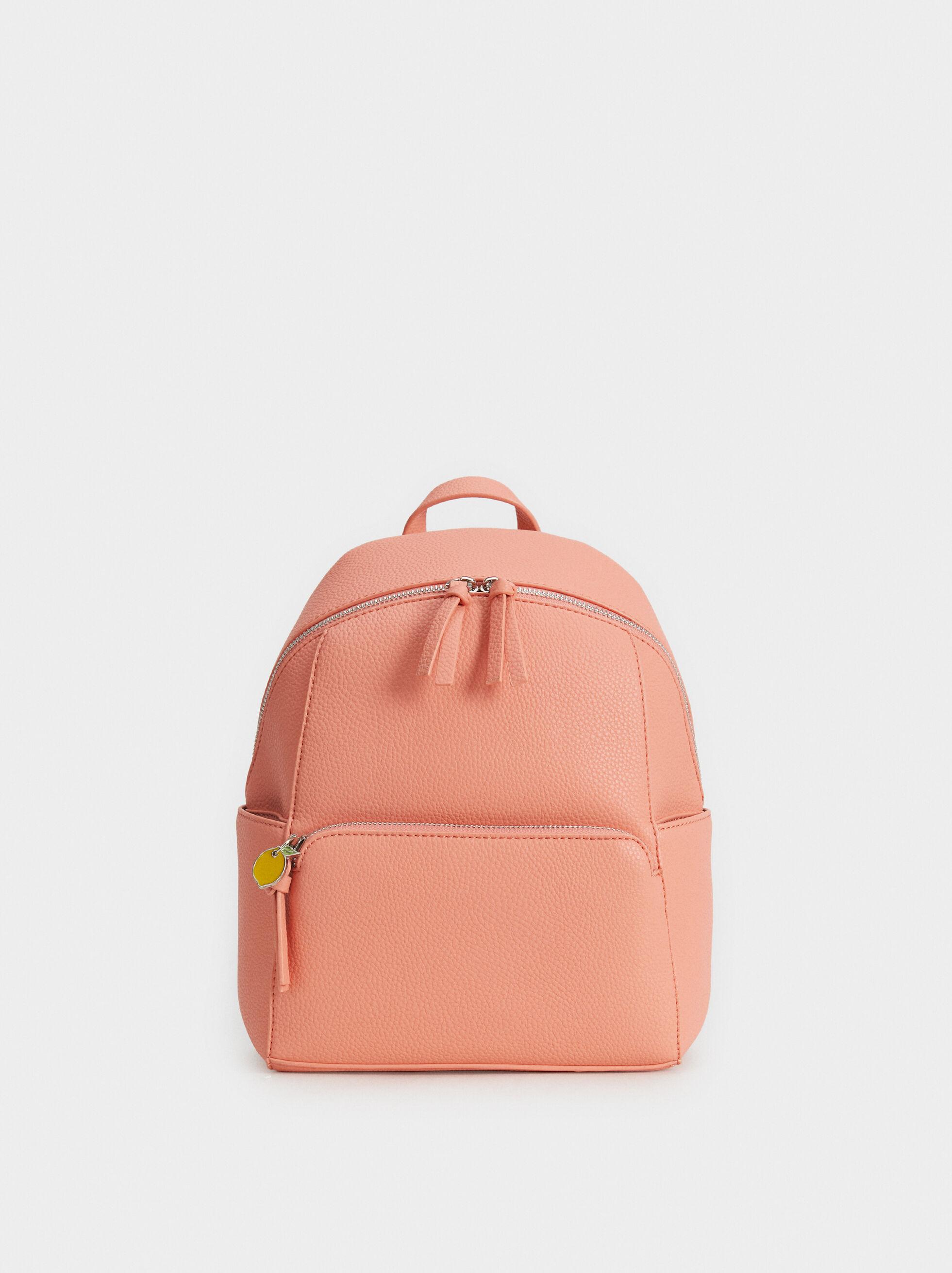 Backpack With Lemon Detail, , hi-res