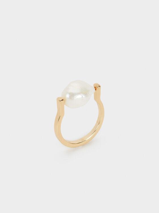Fancy Pearls Ring, , hi-res
