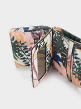 Compact Purse With Front Flap Fastening, Green, hi-res