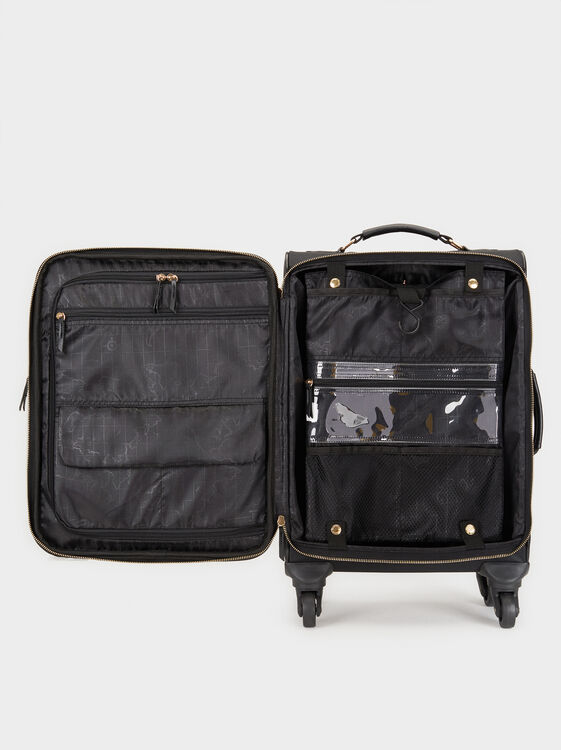 Nylon Trolley Bag, Black, hi-res