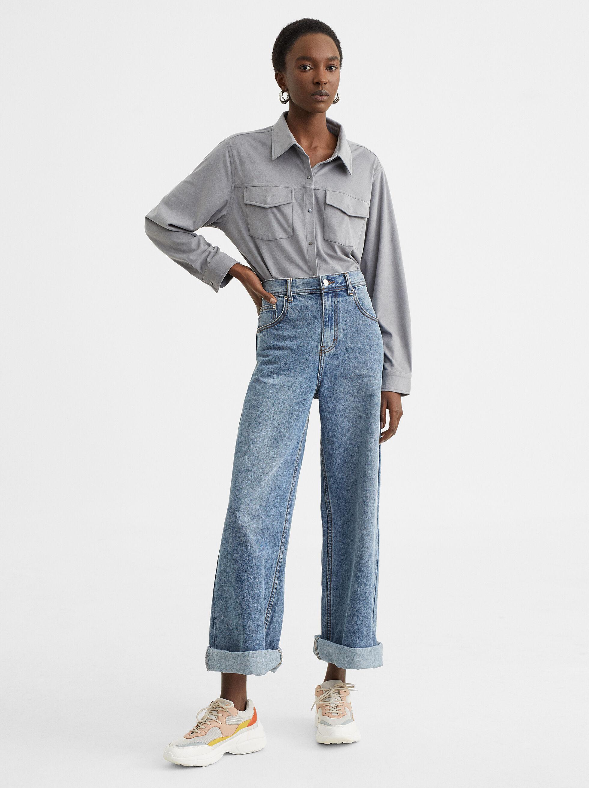 Plain Shirt, , hi-res