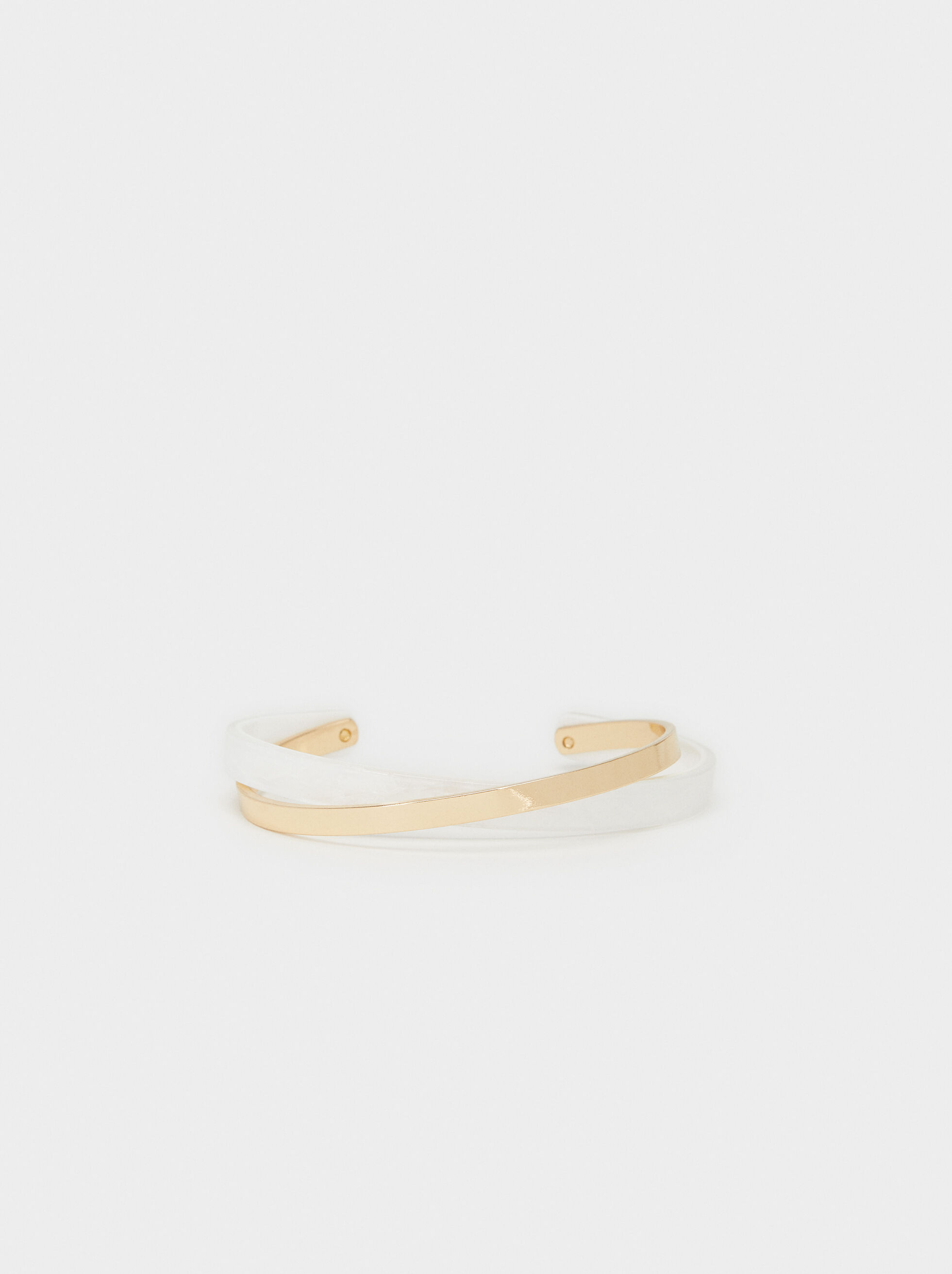 Creme Rigid Bracelet, Multicolor, hi-res
