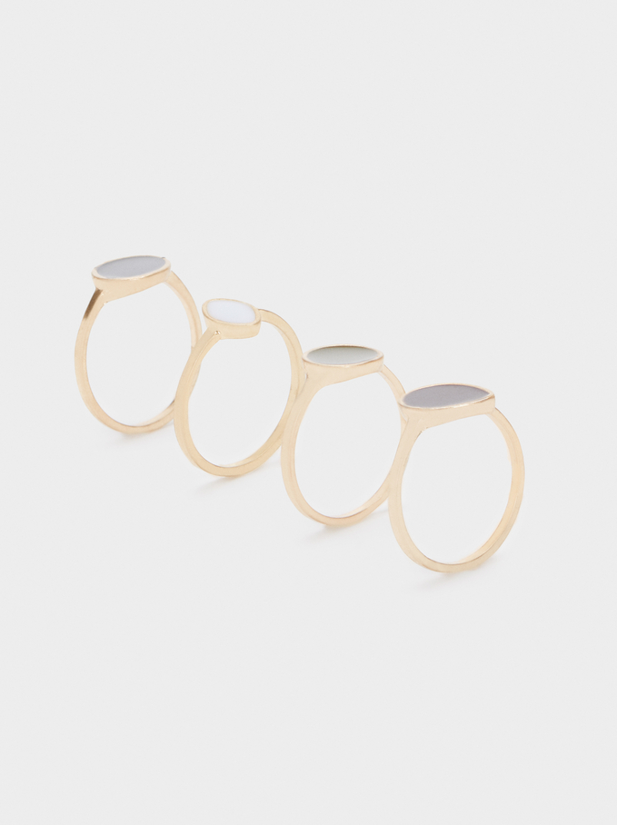 Set Of Bubbles Rings, Multicolor, hi-res