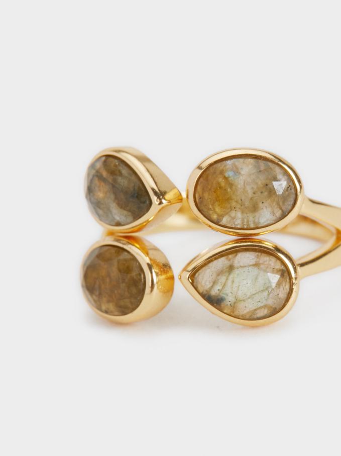 925 Silver Ring With Stones, Multicolor, hi-res