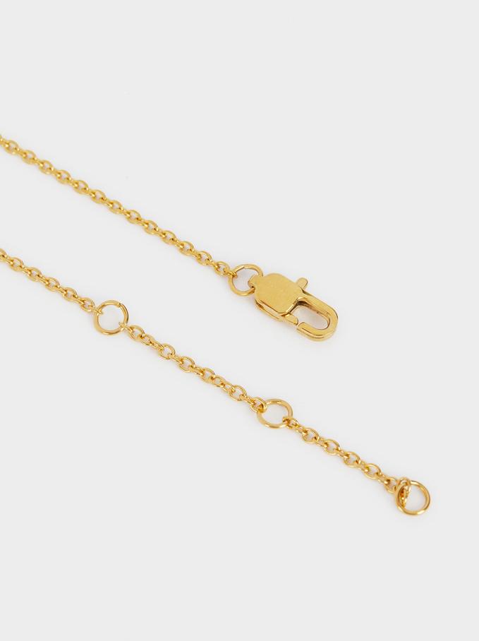 Steel Love Bracelet, Golden, hi-res