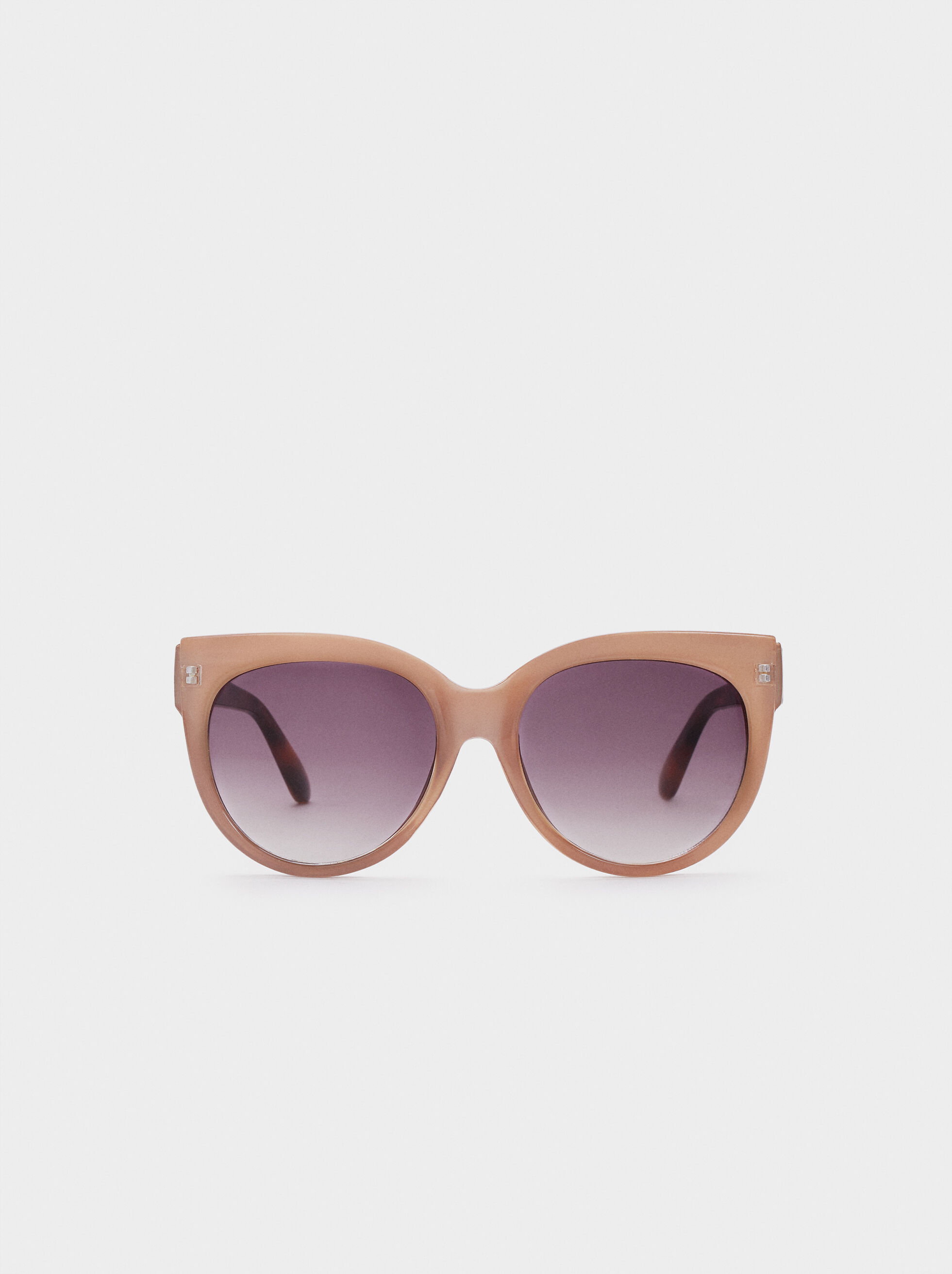 Cateye Sunglasses, Pink, hi-res