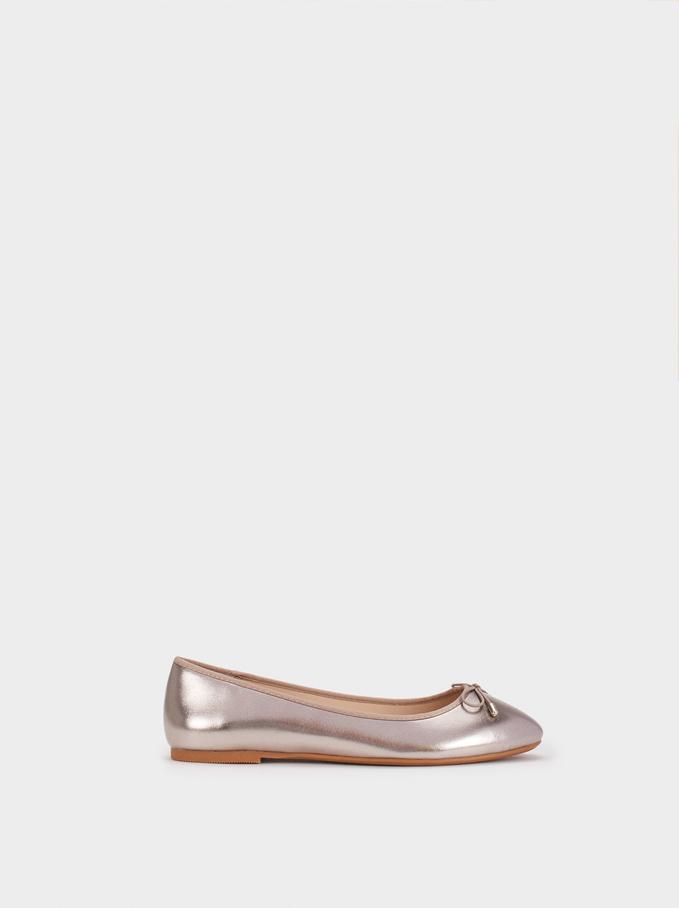 Special Price Ballerinas, Grey, hi-res
