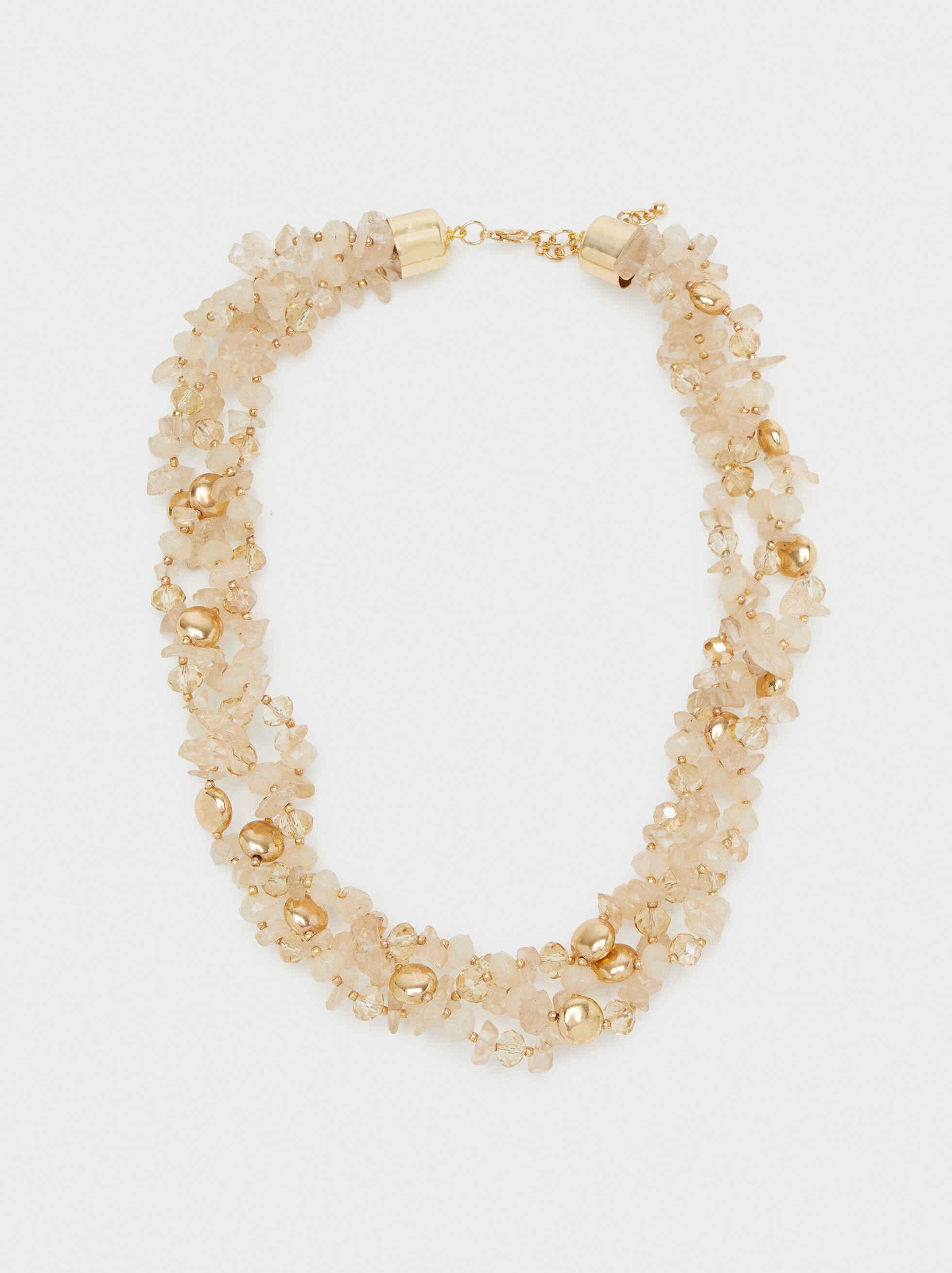 Exclusive Collection Short Necklace, Multicolor, hi-res