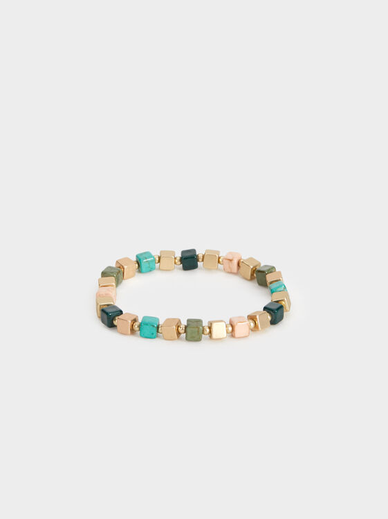 Stone Story Bracelet With Beading, Multicolor, hi-res
