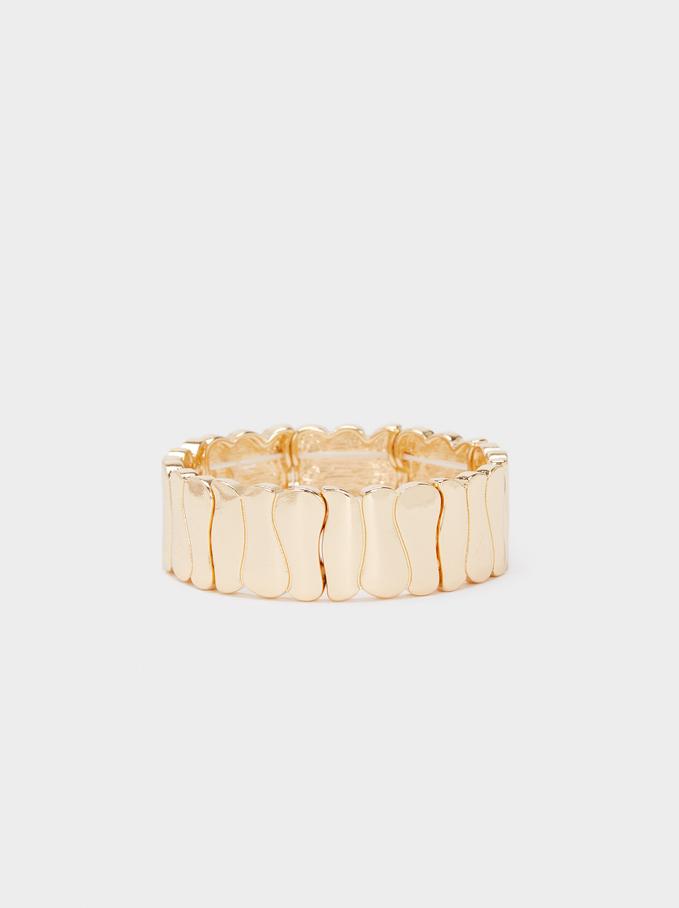 Elastic Bracelet , Golden, hi-res