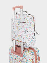 Kiss Travel Travel Backpack, Pink, hi-res