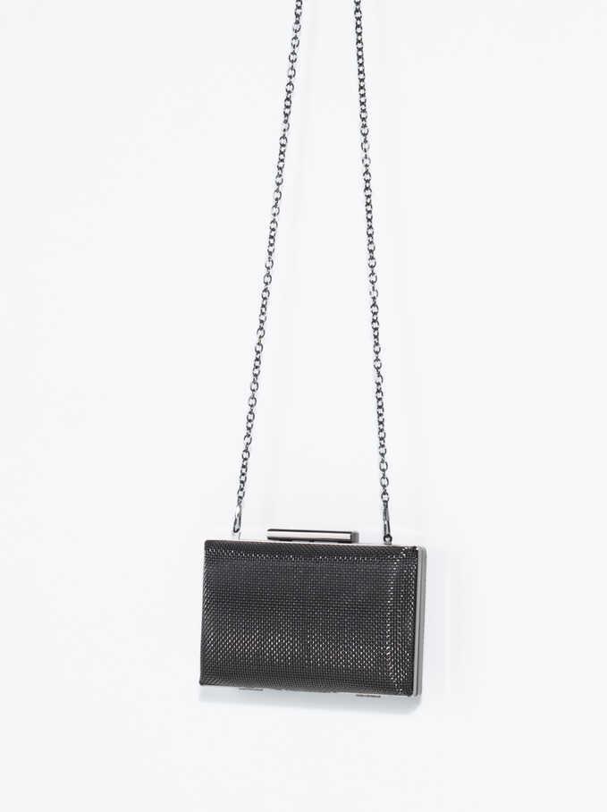 Forever Box Bag, Black, hi-res