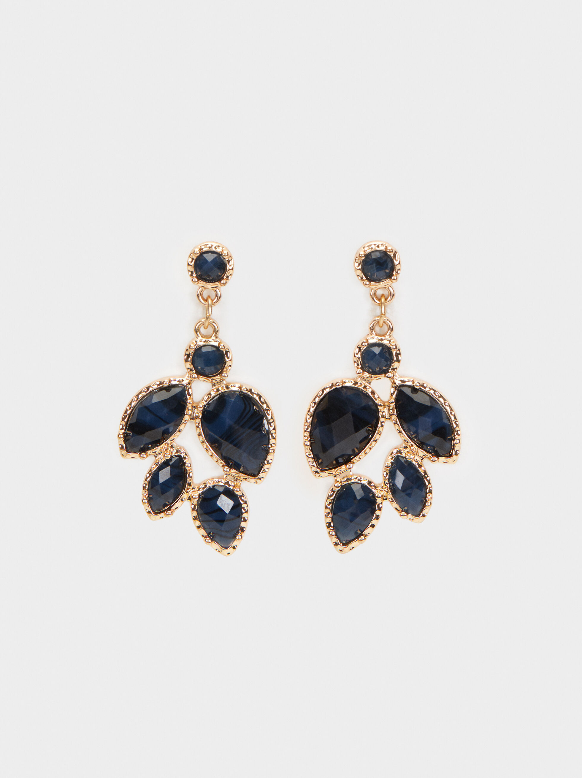 Savage Sparkle Long Earrings, , hi-res