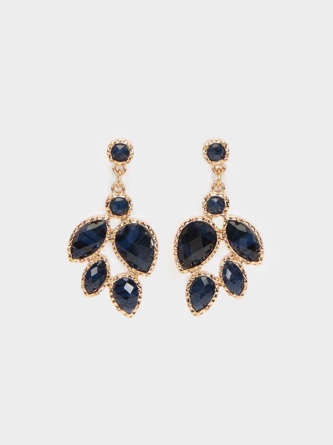 Savage Sparkle Earrings, Multicolor, hi-res