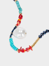 Recife Short Necklace With Beads, Multicolor, hi-res