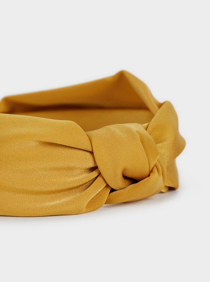 Bandolete Estampada Multicolorida, Mostarda, hi-res