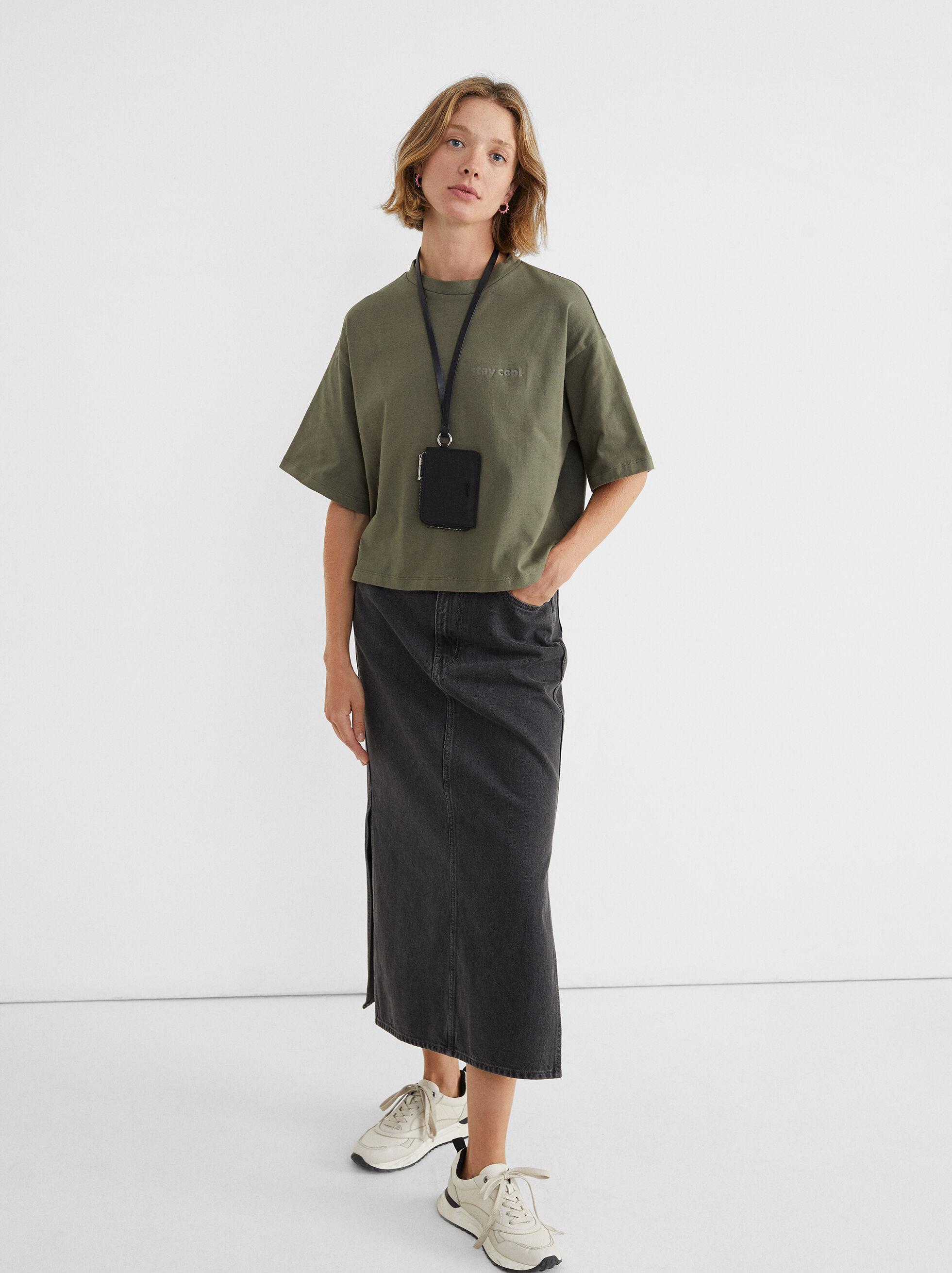 T-Shirt Com Decote Redondo Stay Cool, , hi-res